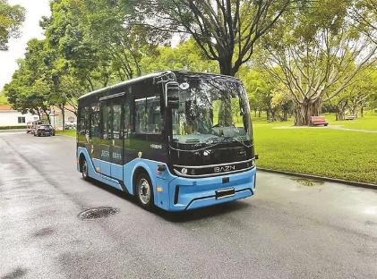 深圳莲花山公园将于本月启用5G无人驾驶游览车